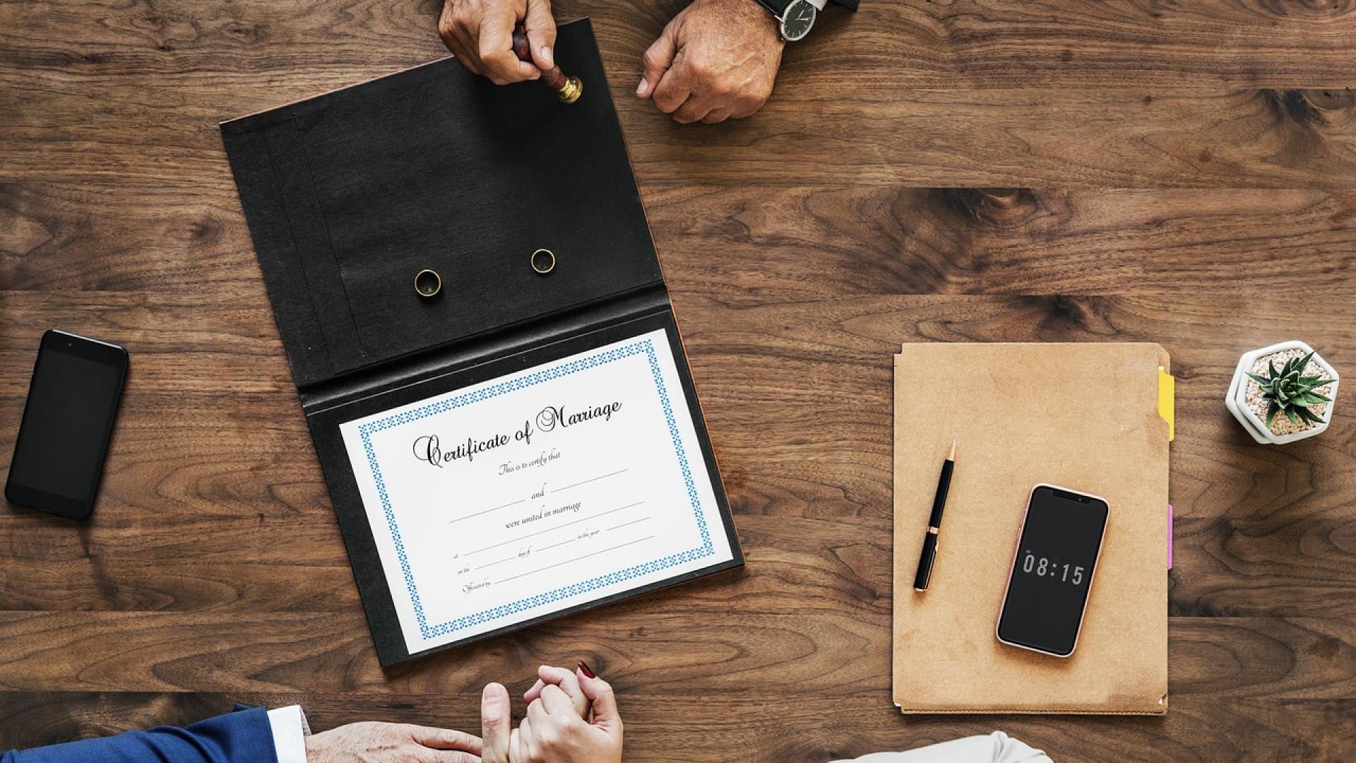 Comprendre le contrat de mariage sur le régime de séparation des biens